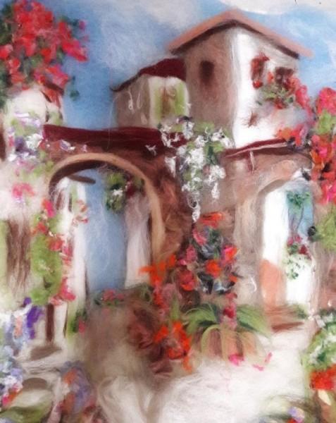 Теперь живопись шерстью доступна всем, кто живет в Неаполе или рядом