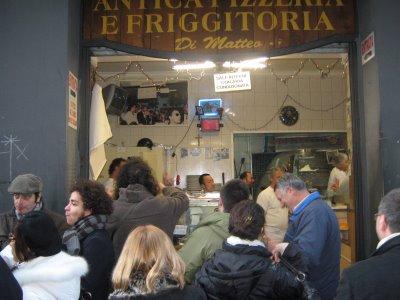 «Di Matteo» - Историческая пиццерия Неаполя