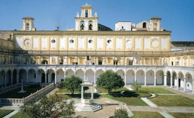 Картезианский монастырь Чертоза ди Сан-Мартино
