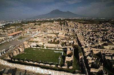 После катастрофы, произошедшей днем 24 августа, Помпеи,