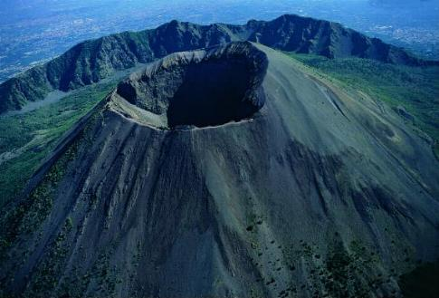 Везувий считается действующим вулканом