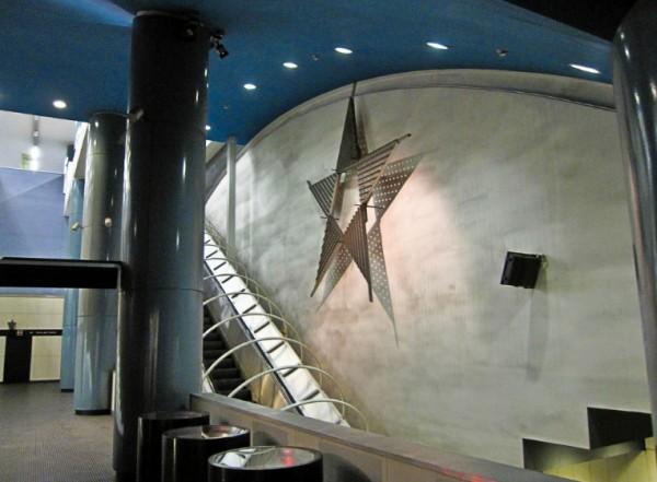 Неаполь метро - станция vanvitelli
