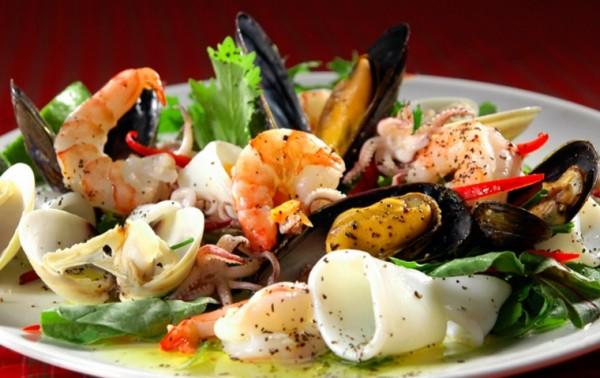 Традиционная кухня Италии основана на овощах и морепродуктах
