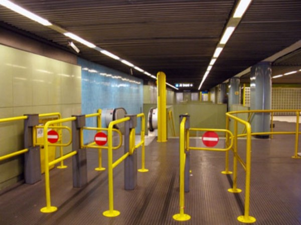 Неаполь метро - станция Medaglie d'Oro