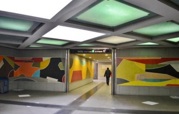 Неаполь метро - станция Rione Alto
