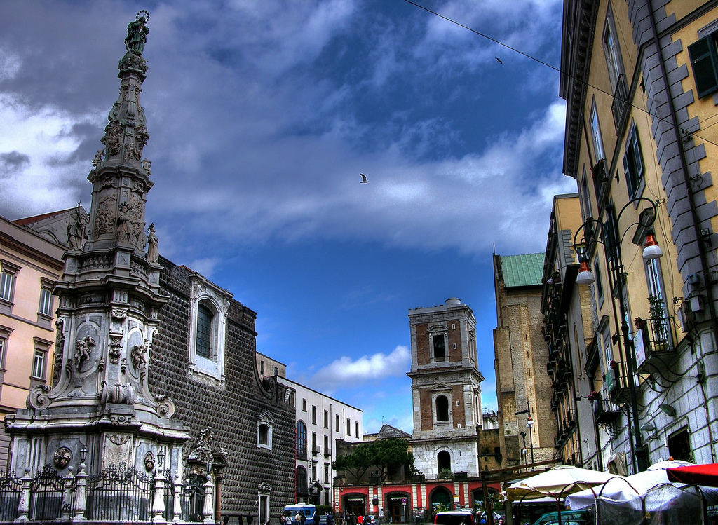 Исторический центр Неаполя
