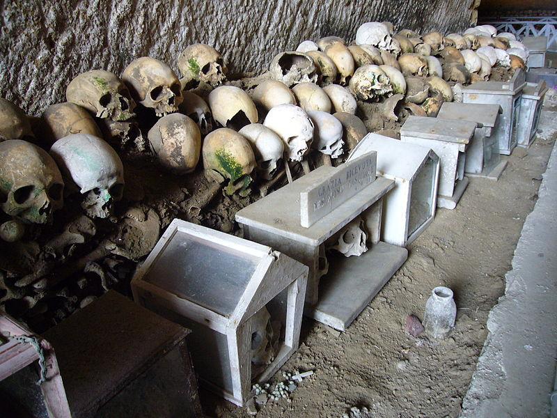 Капуццелле, как называют черепа неаполитанцы,