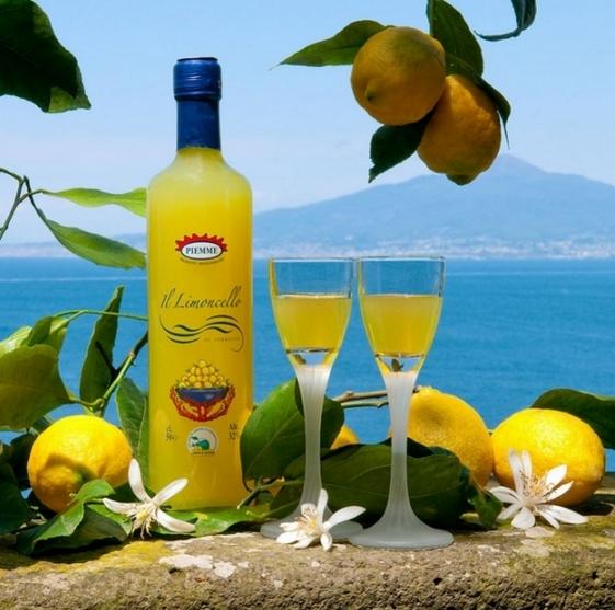 """Калабрия - ликер из лимонной цедры """"Лимончелло"""""""