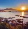 Великолепные пляжи Неаполя сквозь солнцезащитные Очки Ray-Ban
