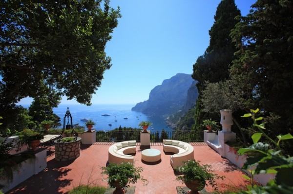 Сады Августа на острове Капри