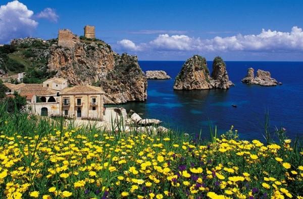 живописные пейзажи Сицилии