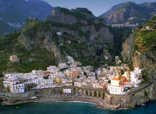 Амальфитанское побережье – это райский уголок для туристов