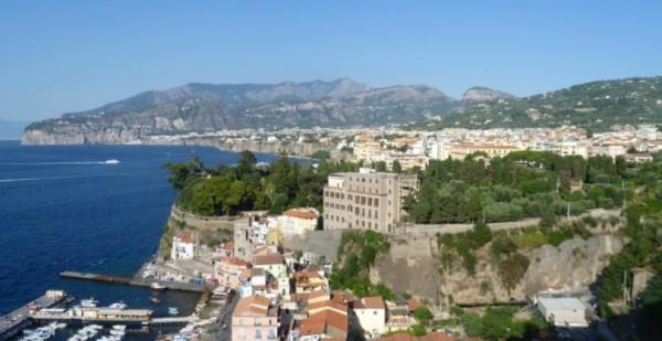 Сорренто - На скалистом берегу Неаполитанского залива