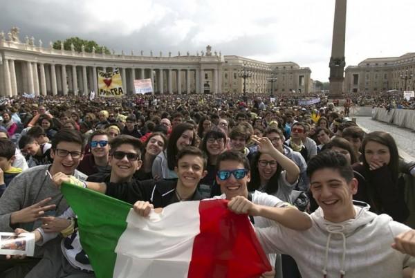 Безработная итальянская молодежь