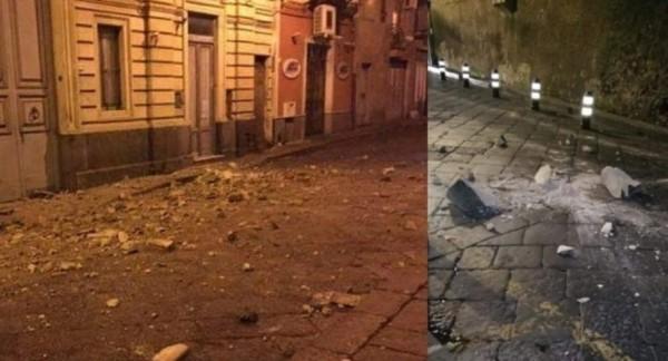 Сицилия: у подножия вулкана Этна произошло землетрясение