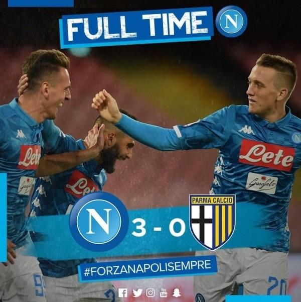 футбол - Наполи – Парма 3:0