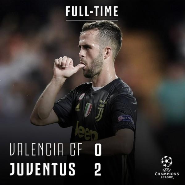 Валенсия – Ювентус 0:2