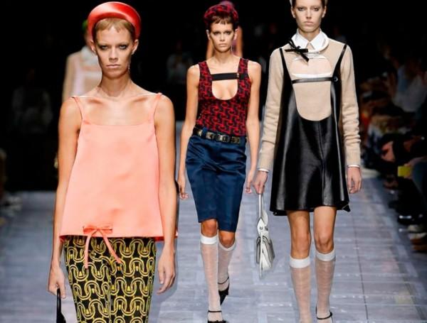 Милан: Неделя моды с весенней коллекцией Миуччи Прада 2019