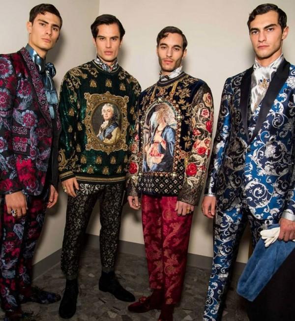 в столице моды представлена новая коллекция от Dolce&Gabbana