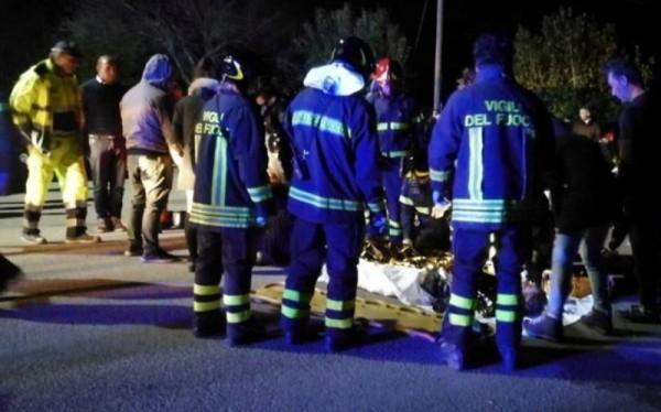 Анкона: В клубе произошла давка, погибли шесть человек