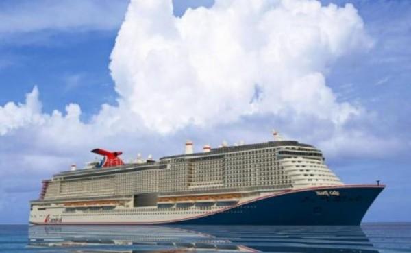 Самое большое итальянское круизное судно будет носить имя «Mardi Gras»