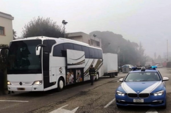 �тальянская полиция оштрафовала молдавского водителя на 4500 евро