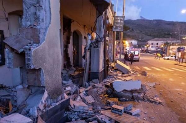Сицилия: из-за землетрясения в регионах введут режим ЧП