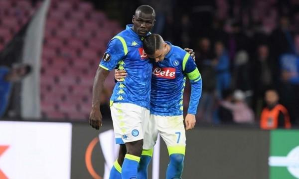 футбол, Лига Европы: Наполи – Арсенал 0:1