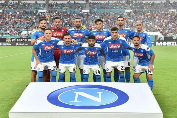 контрольные матчи: Наполи – Барселона 1:2 (1:1)