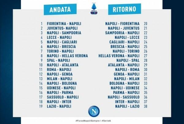 Календарь нового сезона Серии А