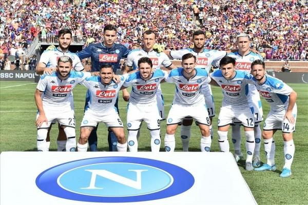 «Наполи» возвращается из США, дважды проиграв великой «Барселоне»