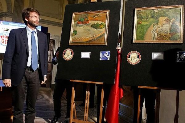 В Италии нашли картины знаменитых художников, украденные в 1970 году