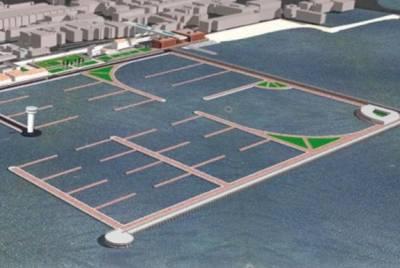 началось строительство порта Неаполя