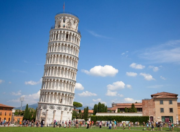 Пизанская башня не будет падать ближайшие лет 200