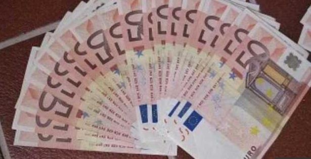 АНКОНА – Фальшивые евро