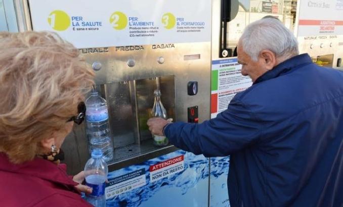 На острове Капри отключили воду
