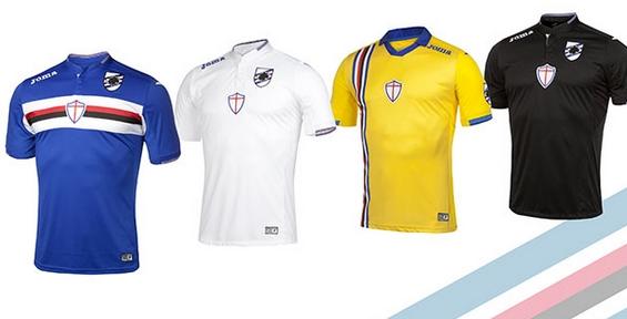 Новые футболки для болельщиков «Сампдории»