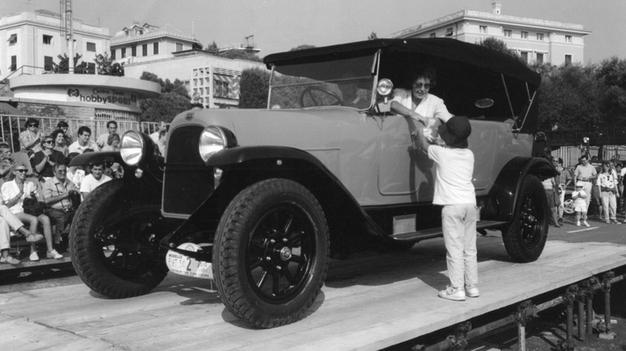 Fiat 510 Torpedo принадлежал ранее королю Виктору Эммануилу Третьему