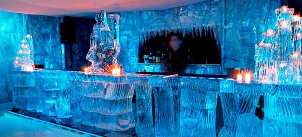 Ледяной миланский бар порадует страдающих от жары