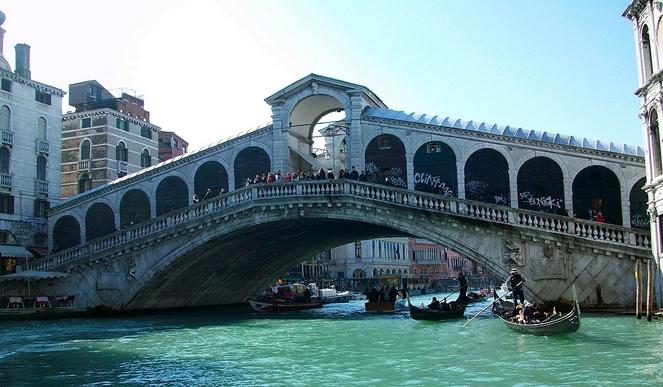 селфи - четвертое место, Мост Вздохов в Венеции