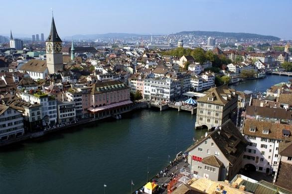 Туризм - Цюриха