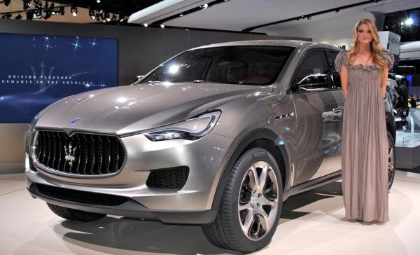 Maserati планирует запустить серийный выпуск кроссовера Levante