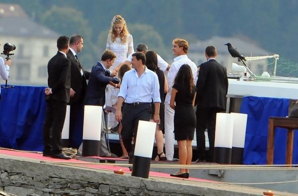 Прошлые выходные стали торжественными для принца Монако Пьер Казираги и его новоиспеченной супруги журналистки Беатрис Борромео