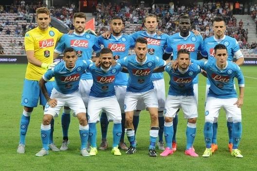 футбол, Наполи в Ницце