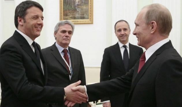 Путин и Ренци - обсудили возможности двустороннего сотрудничества в энергетики и гуманитарной сфере