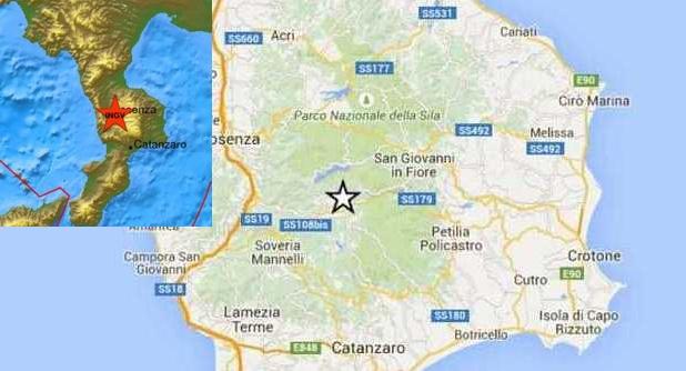 Землетрясение в Калабрии: страх среди людей
