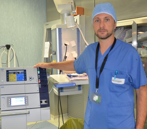 Первым в Европе, кому удалось удалить раковую опухоль в желудке эндоскопическим методом