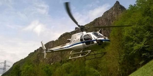 Розыски затерявшегося вертолета завершились – в Альпах найдены тела трех членов экипажа