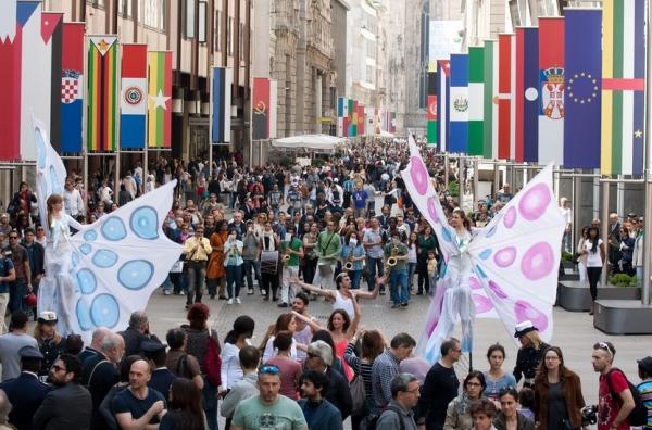 Милан. В июле выставку Expo-2015 посетили почти три миллиона гостей
