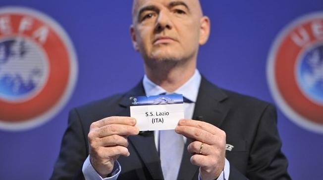 Римский «Лацио», за право играть в групповом турнире Лиги чемпионов